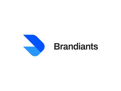 Brandiants (Concept) project development tones color type blue giants esports brandiants branding