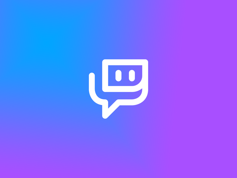 Twitch esports symbol icon gaming streaming twitch logo redesign color logos identity monogram logo-exploration logoconcept project vector exploration symbol icon brand logo branding