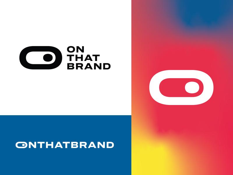 ONTHATBRAND otb typography design switch icon project identity studio logo agency branding logo designer logo design logotype brand logos logo brand-identity branding
