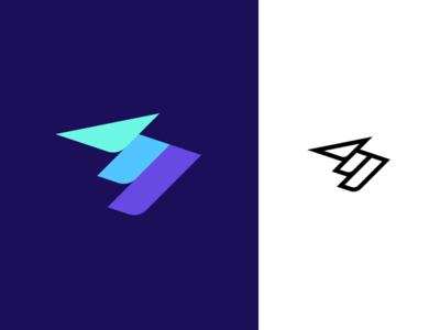 Striking M - Logo-design - ⚡️