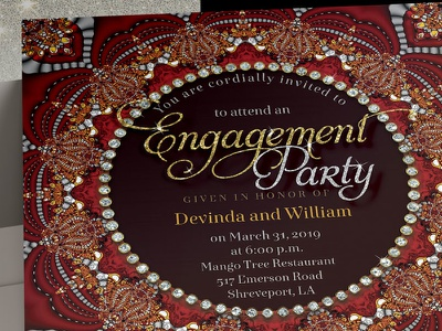 Bohindia : Bohemian & Indian design fusion (Invitations) invitation design invitation invites print template webgrrl lemonleafprints engagement invitations