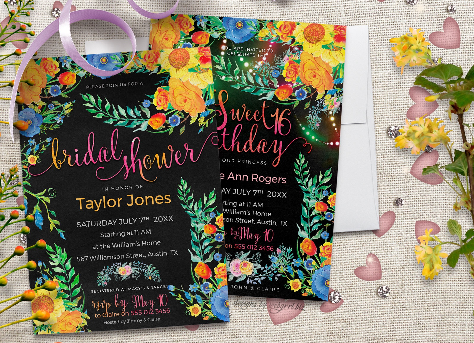 Bridal shower sweet17 5x7 oct2017 mockup