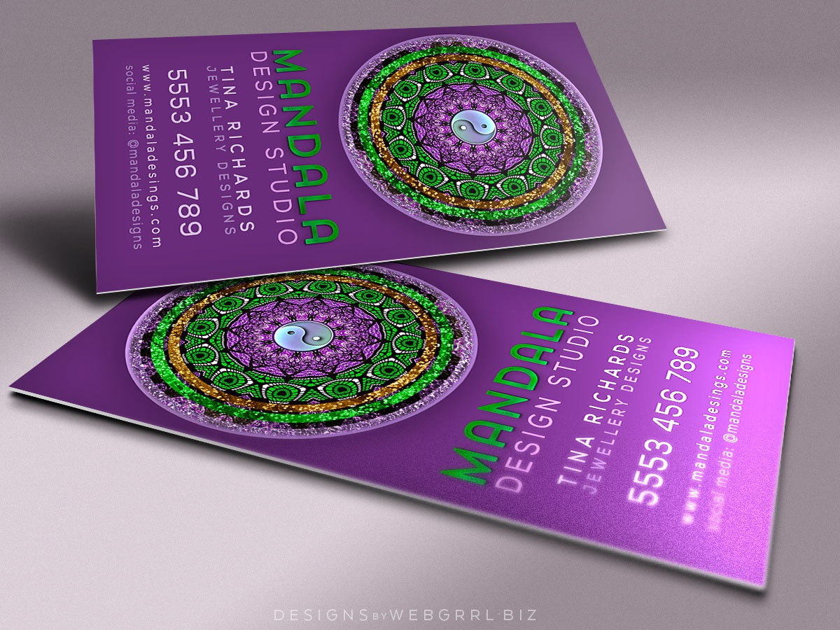 Purple green mandala vertical mu1 1200