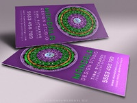 Purple green mandala vertical mu1 1200