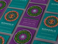 Mandala Series Business Cards