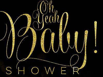 Black and gold Stylish Glam • Card Design invitation cards printed design glamour stylish black gold inspiration
