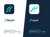 logo for sport app concept
