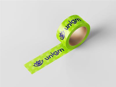 Unigm - identity escape game brand affinitydesigner affinity logo affinity designer branding design vector illustration