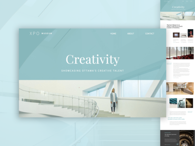 Xpo PageCloud Template content website builder web design modern blog magazine layout gallery template web app typography design pagecloud