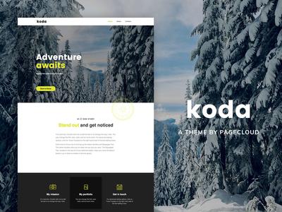 Koda PageCloud Template