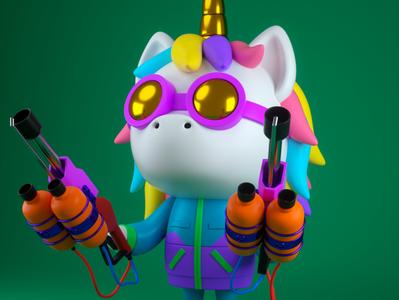 Crazy Unicornio