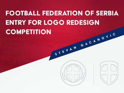 Serbia National Soccer Logo Redesign