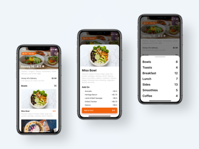 Food Delivery — Mobile App