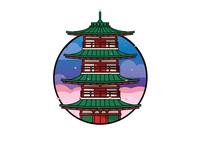 Japanese Red Pagoda