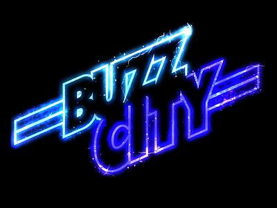 Buzz City screensaver background lightning electric buzz city michael jordan jordan hornets sports nba