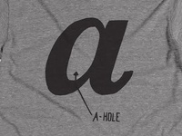 Counter This, A-Hole Shirt