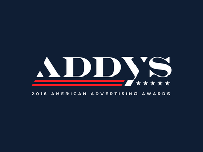 2016 ADDYS stripes stars flag usa logo political politics 2016 american advertising awards american advertising federation aaf addys