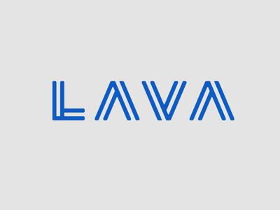 Lava type logo unused lava