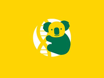 Koala oi oi oi yellow gold green aussie australia koala