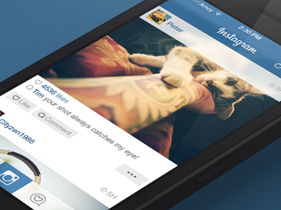 Instagram iOS7 iphone instagram ios7 ui interface