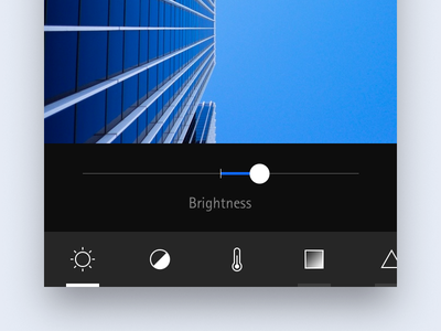 photo editor concept application mobile interface ui tool editor photo