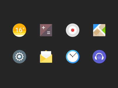 mobile phone icons P2