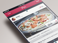 ui concept of Pin
