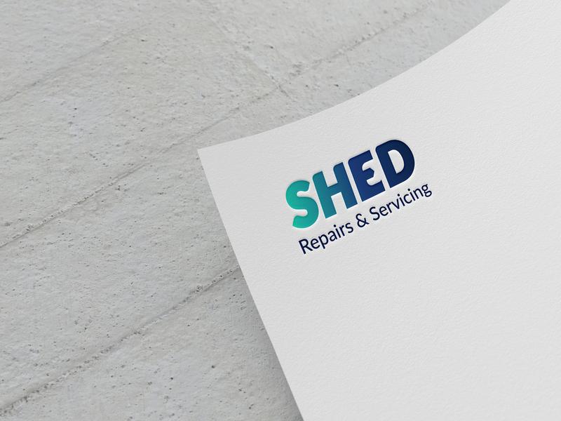 Shed blue graphic design trend 2019 trend logomark trending indentity brand branding design 2d