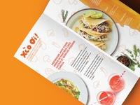 Brochure pancake restaurant