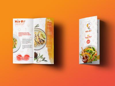 Banh Xeo Restaurant Brochure