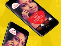 Robi AddaBazi Mobile Site Concept