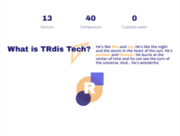 What is TRdis Tech?