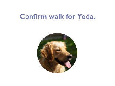 Daily UI #54: Confirmation wag! app wag dog wag! confirmation page confirmation daily ui 54 daily ui