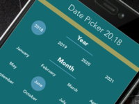 Daily UI #80: Date Picker