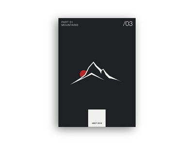 PosterSeries | Mountains | Vulcan