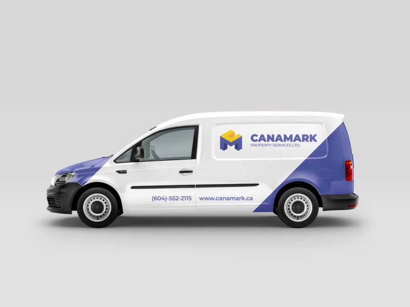 Freelance Branding | Vehicle Mockup | Canamark