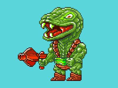 Kobra Khan Pixels he-man illustration 80s pixels motu pixel art