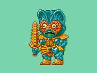 Mer-Man Pixels