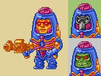Man-E-Faces Pixels