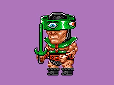 Tri-Klops Pixels masters of the universe 80s 16 bit pixel art pixels skeletor he-man motu