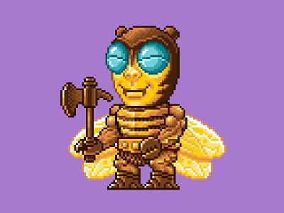 Buzz Off Pixels masters of the universe 80s 16 bit pixel art pixels skeletor he-man motu
