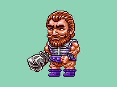 Fisto Pixels masters of the universe 80s 16 bit pixel art pixels skeletor he-man motu