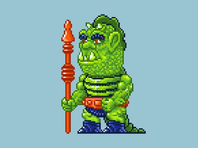 Whiplash Pixels masters of the universe 80s 16 bit pixel art pixels skeletor he-man motu
