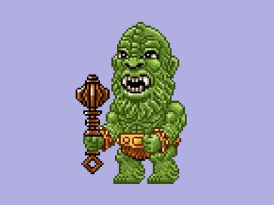 Moss Man Pixels masters of the universe 80s 16 bit pixel art pixels skeletor he-man motu
