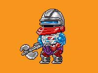 Roboto Pixels