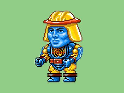 Sy-Klone Pixels 16 bit he-man skeletor motu nes pixels pixel art 80s illustration