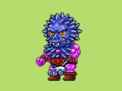 Spikor Pixels 16 bit he-man skeletor motu monster nes pixels pixel art 80s illustration
