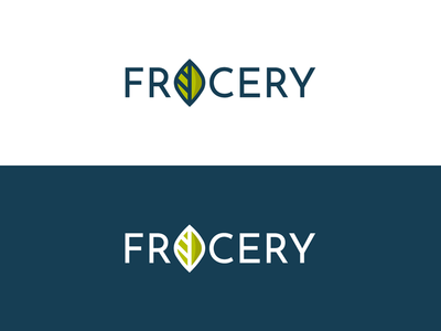 Frocery Logo Design Options 2018