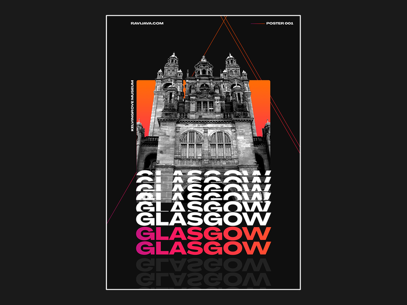 Kelvingrove Art Gallery and Museum, Glasgow Poster Design