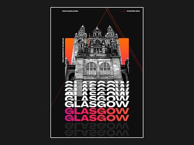 Kelvingrove Art Gallery and Museum, Glasgow Poster Design illustration designer dark mode gradient design shapes geometric design poster design poster glasgow